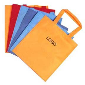 Shopping bag-non woven material, plastic bag