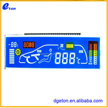 STN LCD for electronic and motor car