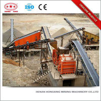 Electric motor stone crusher conveyor rubber belt