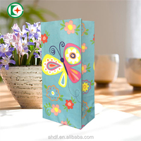 wholesale christmas flower gift paper bag supplier