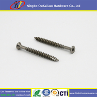 Torx trim head deck screw type 17 for wood