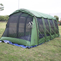 Large outdoor 20 person inflatable camping travelling tent