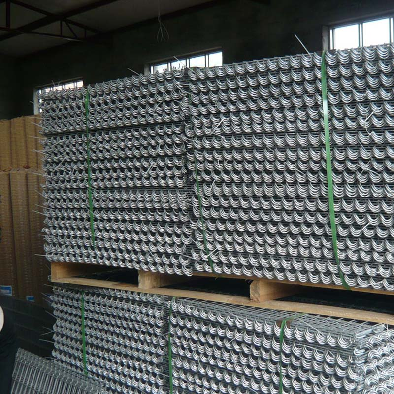 SGS 3mm diameter square galvanized welded gabion box for wall fence
