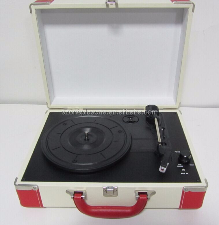Wholesale USB Simple Phonograph Audio Record Player with Support Turntable Convert LP Record to MP3 format