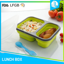 Food container cheap silicone baby food freezer storage