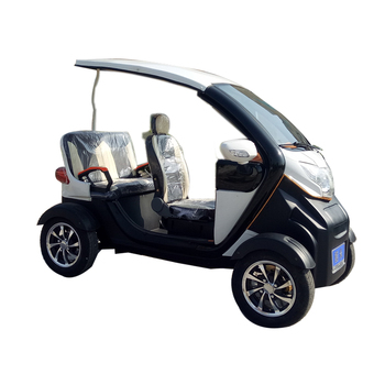 CE Certificate 3 People Electric Mini Shuttle Bus For Sightseeing