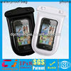 2014 pvc rubber waterproof bags for smartphone with ipx8 certificate