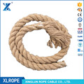 3strand twisted natural color jute rope