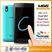 OMES wholesale dual sim 3g dual core android handphone