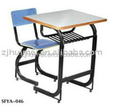Wholesale china goods ables and chairs kids writing table school furniture
