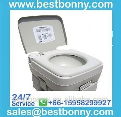 20L indoor disabled flush hospital marine mobile wc camping plastic portable toilet