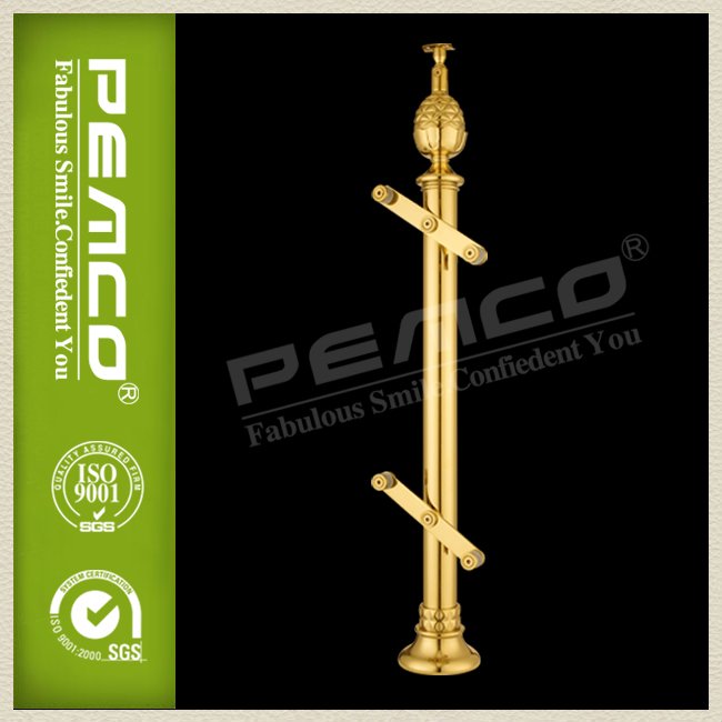 Column stair/Pillar golden indoor decorative balusters