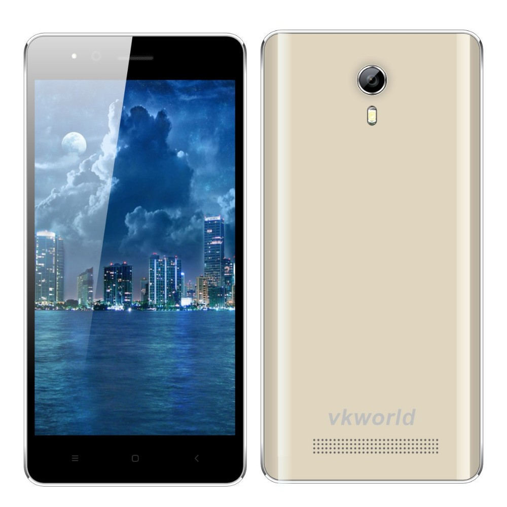 Fashionable vkworld F1 4.5 inch MTK6580 Quad Core RAM1G ROM8G Android 5.1 Double Flash Camera 3G Smartphone