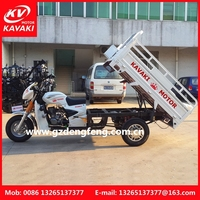China Latest Model Products in Market 200CC tricycle 3 wheel motorcycle