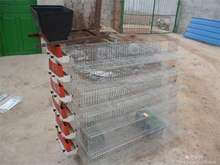 iron wire 2016 hot sale new design quail cage/animal cage/breeding cage
