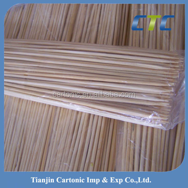 Round Bamboo Sticks,Bamboo Skewers For Bbq