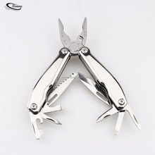 Multitool 12 in 1, Spring Loaded Pliers, Compact Folding Multifunctional Tool Kit Perfect for Indoor/Outdoor