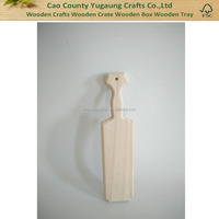 Solid Pine Wooden Paddle Wood Paddle