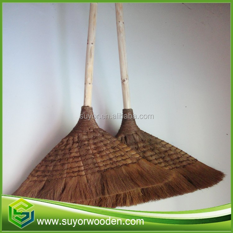 professioanl manufacturing 75cm 85cm 120cm length coconut wood broom handle