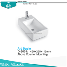 Factory price freestanding compact toilet and basin D-8061