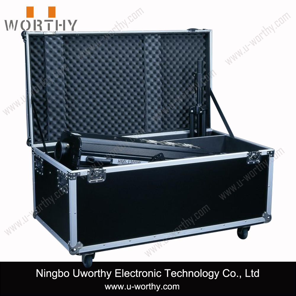 Heavy-duty Tool Case Drawer Case Hardware Tool Box Aluminum Flight Case with Wheels