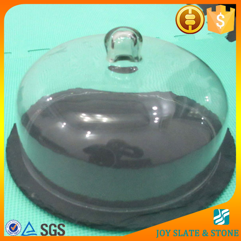 China factory slate tray and dinner plate covers