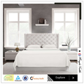 Luxury egyptian cotton bed sheets set for home and hotel used wholesale