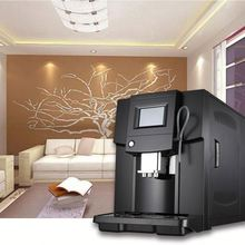 Top color screen abs housing material espresso coffee machine