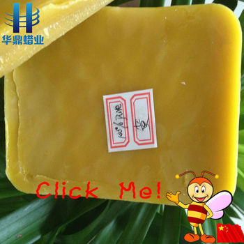 high refined natural pure beeswax for cosmetics