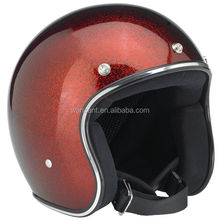 2016 high quality half 3/4 face helmets safety with bubble visor top sale