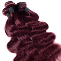 China supplier wholesale top quality color 99j virgin brazilian hair color dye