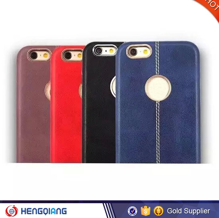 New arrvial products 2016 cell phone leather case, for iphone 6 case