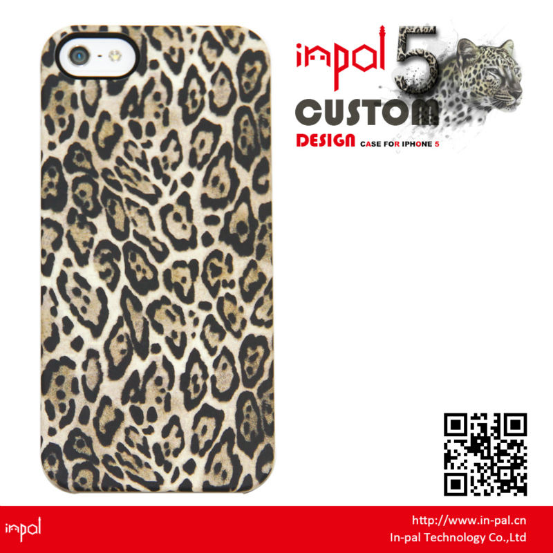 2013 mobile accessories manufacturing company one piece design customized hard case for apple iphone 5
