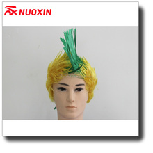 NX FLAGS 2018 world cup football fans Wig Synthetic Cosplay Carnival party wig