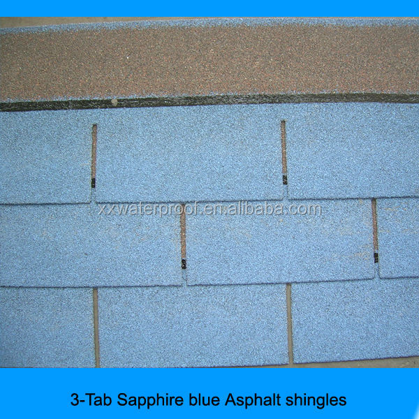the best quality bitumen roof tile in China