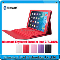 Bluetooth Keyboard Folio PU Leather Case Cover for iPad Air for ipad 5