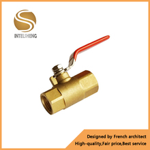 factory direct cheap price long handle brass ball valve