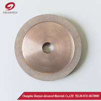 Deep grooving diamond grinding wheel and CBN grinding wheel,Good sharpness and abrasion resistance fluting abrasive discs