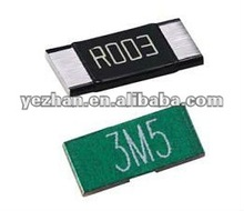Ultra low ohm(metal strip) chip resistor
