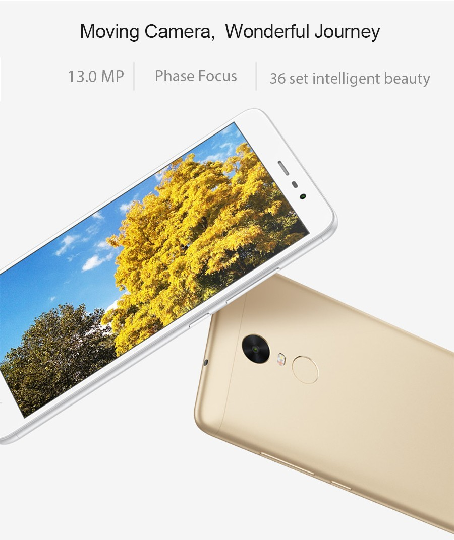Original Xiaomi Redmi Note 3 FDD Mobile Phones MTK Helio X10 Octa Core MIUI7 Fingerprint Metal Body 5.5'' 2GB RAM 16GB ROM