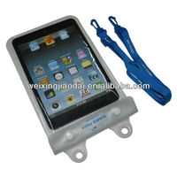 Best 2M Zipper PVC Transparent Clear Waterproof Bag For Ipad Mini