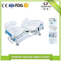 Manufactory Five Function Electric tracking standard size hospital bed