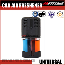 2 IN 1 promotional unique custom car vent scent perfume air freshener bottle