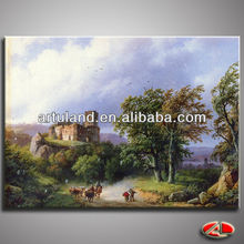 High quality copy painting of famous artist/oil painting printer