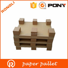 high quality cushioning honeycomb paper pallet instand of plastic pallet