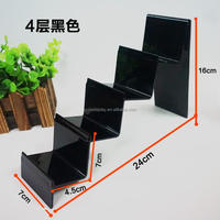 plastic gun stand acrylic display stands for bag, wallet