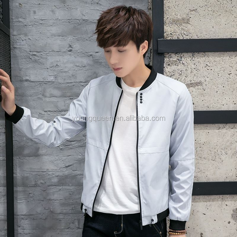 NZ91 2016 spring men jacket coat young fashion casual model jacket for man