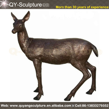 Brass Deer,Cast Iron Deer Statue,Copper Deer Statue