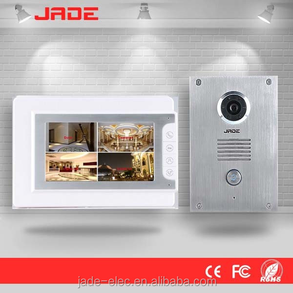 Jade 2wire connection intercom system outdoor video door control
