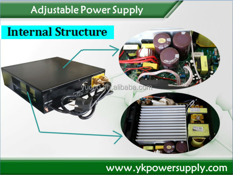 dc adjustable power supply 0-150v 0-10 amp input voltage 220v